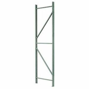 Interlake Mecalux Pallet Rack Tear Drop Upright Frame 48 X 144