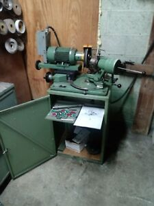 Brierley Grinder Ultimate Drill Tap Countersink Grinding Machine Includes Cams