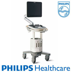 New Philips Clearvue 550 Ultrasound System Machine Shared Service 1 Probe