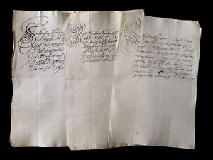 18th Century Autographed Letters Collection