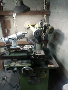 Jeffer Universal Profile Knife Tool And Cutter Grinder With Tracer Single Phase