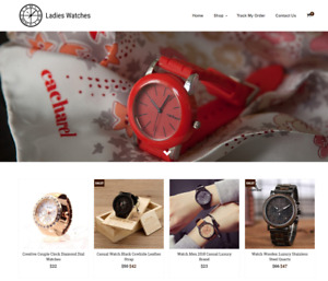 Ladies Watches Turnkey Website Business For Sale Profitable Dropshipping