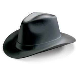 Occunomix Vcb200 Adult s Hard Hat Cowboy Style Black One Size