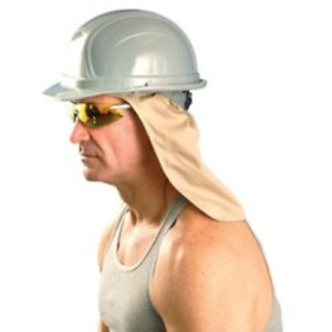 Contractors Pack Of 25 Cooling Hard Hat Neck Shade W Terry Sweatband One