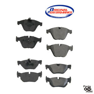Front Rear Brake Pad Kit Complete For Bmw E90 E91 E92