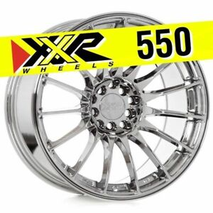 Xxr 550 17x9 25 5x100 5x114 3 36 Platinum Wheels Set Of 4