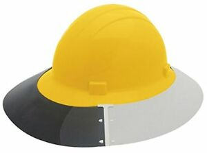 Erb Safety 17925 Hard Hat Sun Shields As4e3 For Americana Full Brim Vent Shield