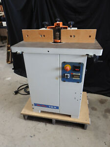 Scm Minimax T40n Vertical Spindle Shaper 2006 230v 3 Phase