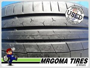 1 Continental Extremecontact Sport Plus Xl 225 40 18 Used Tire 73 Life 2254018