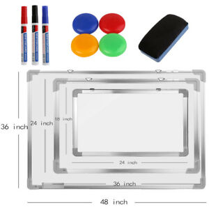 Magnetic Dry Erase Board Single Side Whiteboard School Office Whiteboard Small