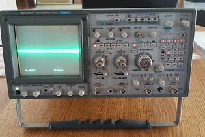Hitachi V 1150 4 Channel Vintage 150mhz Oscilloscope
