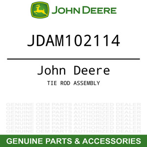 Oem Tie Rod Assembly John Deere 655 755 855 955 Compact Utility Tractor Am102114