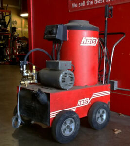 Used Hotsy 770b Electric Hot Water Pressure Washer Sn C63732 0399