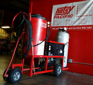 Used Hotsy 991a Electric lpg Hot Water Pressure Washer Sn H38479 0997