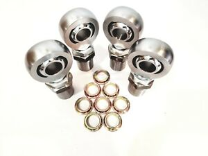 1 1 4 4link Kit Hex Bungs With Rod End Spacers 1 25 Heim Joint 2l 2r