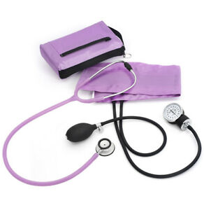 Sphygmomanometer stethoscope Clinical Lite Kit wild Orchid A121 New