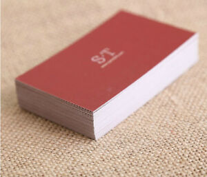 Custom Business Cards Calling Card paper Visiting Card 500 Pcs
