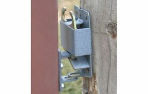 Gate Latch System Kit Heavy Duty Quick Catch Feedlot Livestock Ranch Farm Horse