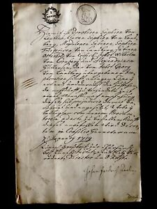 1719 Handwritten Letter In German For Two Ladies