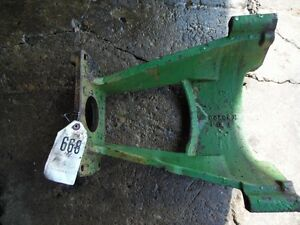 John Deere 4430 Tractor Hyd Pump Cradle Part r42663 Tag 668