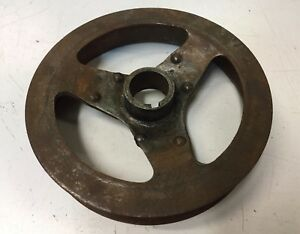 1916 1917 1918 1919 Buick Mclaughlin Engine Crank Pulley Cooling Fan Pulley