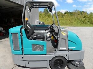Tennant S30 Sweeper L p Totally Serviced Very Low Hrs 430 Mitsubishi Eng