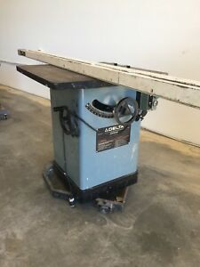 Delta 10 Table Saw 3hp Table Saw with Biesemeyer Fence