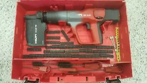 Hilti Dx A41 Powder Actuated Variable Power Nail Gun With Hard Case