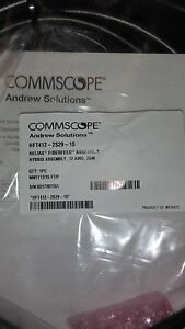 Commscope Hft412 4s29 15 Heliax Fiberfed Hybrid Cable 15 Ft Fiber Jumper Rrh Ovp