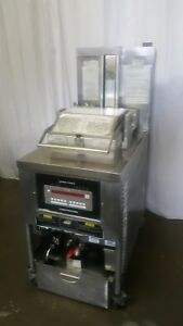 Henny Penny Commercial Pressure Deep Fryer Model Pfg 690 Natural Gas