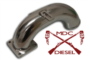 High Flow Intake Elbow Tube For 1998 5 2002 Dodge Ram 5 9 Cummins Diesel 5 9l