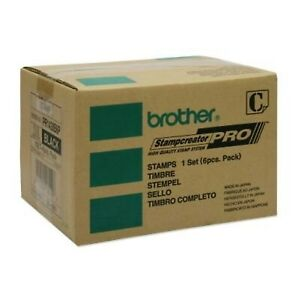 Brother Pr1438b6p Black Pre inked Stamp 6 Pack For Use With Sc2000 Or Sc2000us