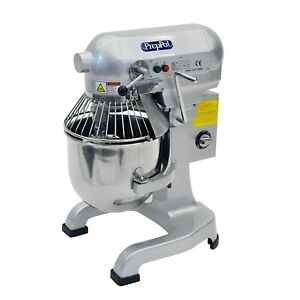 Commercial Stainless Steel Food Mixer 10 quart Preppal Ppm 10 Small Floor Heavy