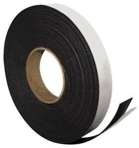 Adhesive Magnetic Strip 50ft L X 1in W Magna Visual P 240p
