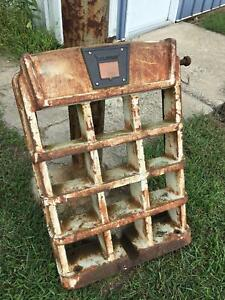 Vintage Cast Iron Oliver Tractor Grill P n 158875 Rat Rod Grill Man Cave Decor
