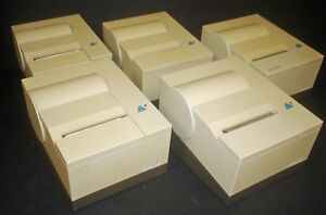 Lot Of 5 Ibm Suremark 4610 tm6 Monochrome Thermal Transfer Pos Receipt Printer