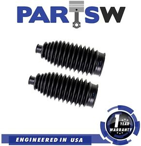 2 Pc New Rack And Pinion Bellows Boots For Hyundai Kia Lexus Suzuki Toyota