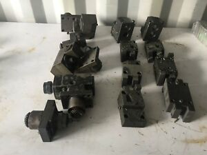 Lot Of 13 Miyano Cnc Lathe Live Tooling Boring Tool Holders free Shipping