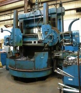 King Vertical Boring Mill 72 28404