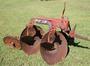 1pt Fast Hitch Farmall 2 Pan Disc Turning Plow 1 f151 1 f200 Farmall 100 130 140