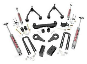 88 98 Chevy gmc 1500 4wd 2 3 Rough Country Lift Kit With N2 Shocks