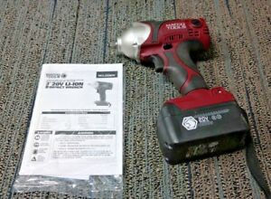 Matco Tools Infinium 3 8 Impact Wrench Mcl2038iw Gun battery Only