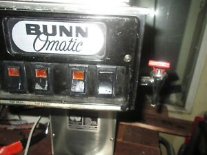 Bunn o Matic Commercial Coffee Maker Refurbished S Series