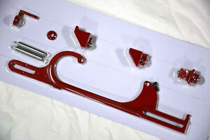 Holley 4150 4160 Red Aluminum Throttle Cable Carb Bracket Carburetor Sbc Bbc