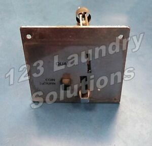 Dryer Coin Drop Coin Acceptor For Maytag P n 41 1145 40 Used