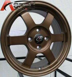 15 Rota Grid Rim Wheel Tires Yaris Mr2 Ehco Crx Civic