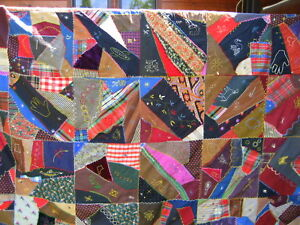 Outstanding Circa 1900 S Antique Crazy Quilt Brilliant Colors Unique Appliqu