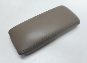 Honda Accord Center Console Arm Rest Cover Lid Top Gray Leather Pad Beige 94 97