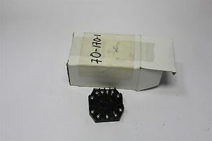 6 Custom Connector 11 Pin Octal Relay Base Rb11