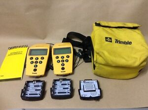 Lot Of 2 Trimble 17319 Geoexplorer Ll Gps Mapping System Handheld Data Collector